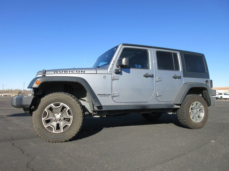 2014 Jeep Wrangler Unlimited Rubicon  Fultons Used Cars Inc  in , Colorado