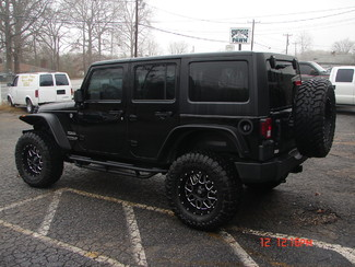 2014 Jeep Wrangler Unlimited Sport Spartanburg, South Carolina 4
