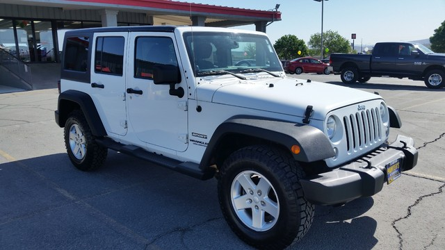 2014 Jeep Wrangler Unlimited Sport St. George, UT 2
