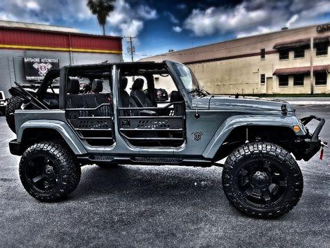 2014 Jeep Wrangler Unlimited CUSTOM ANVIL SAHARA LEATHER NAV LIFTED in , Florida