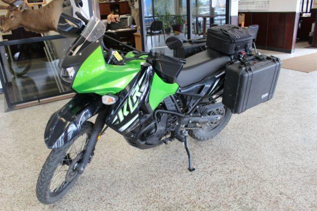 2014 Kawasaki Kl650 E Great Falls Montana Green 2014