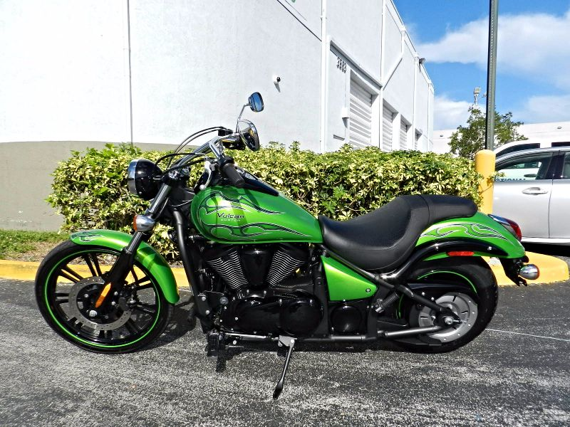 2014 Kawasaki Vulcan 900 Custom FREE WARRANTY  city Florida  MC Cycles  in Hollywood, Florida