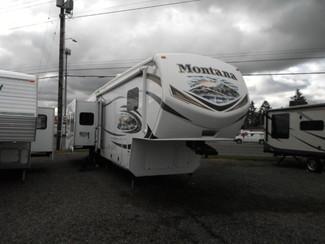 2014 Keystone Montana Paramount 3402RL Salem, Oregon 1