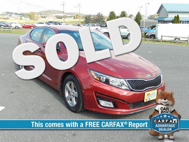 2014 Kia Optima LX | Harrisonburg, VA | Armstrong's Auto Sales in Harrisonburg VA
