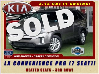 2014 Kia Sorento LX W/ CONVENIENCE PACKAGE (7 SEAT) - 3RD ROW! Mooresville , NC