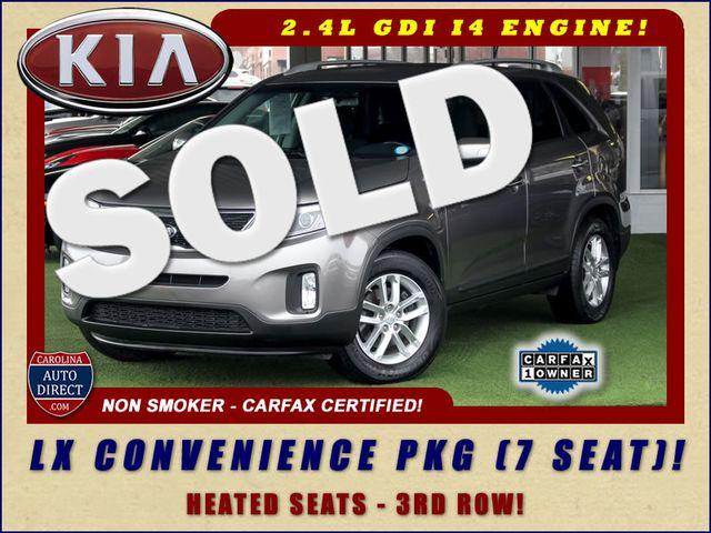2014 Kia Sorento LX W/ CONVENIENCE PACKAGE (7 SEAT) - 3RD ROW! Mooresville , NC 0