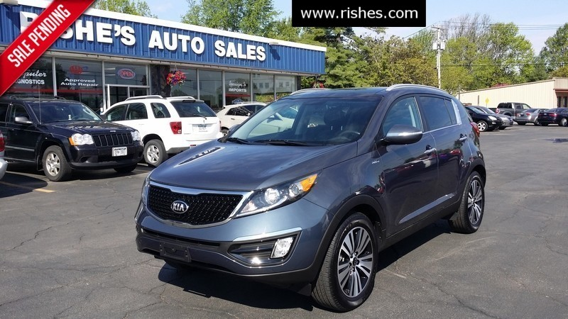 2014 Kia Sportage EX in Ogdensburg New York