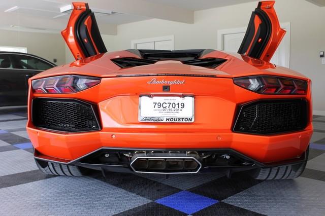 2014 Lamborghini Aventador Roadster Houston, Texas 19