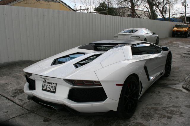 2014 Lamborghini Aventador Roadster Houston, Texas 6