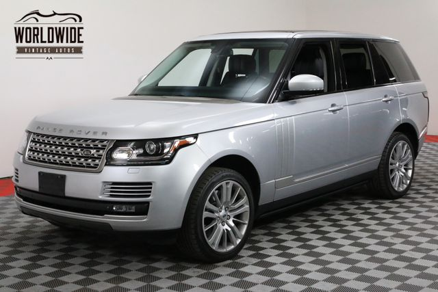 2014 Land Rover RANGE ROVER SUPERCHARGED CPO WARRANTY TO 100,000 MILES | Denver, Colorado | Worldwide Vintage Autos