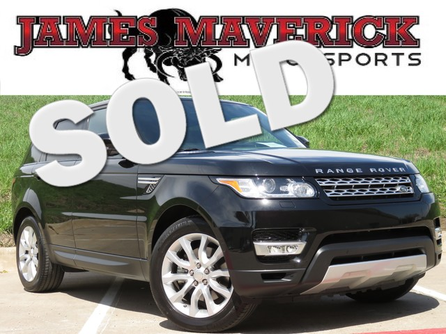 2014 Land Rover Range Rover Sport HSE CLEAN CARFAX TEXAS ONE OWNER NAV PANO-ROOF HEATED SEA