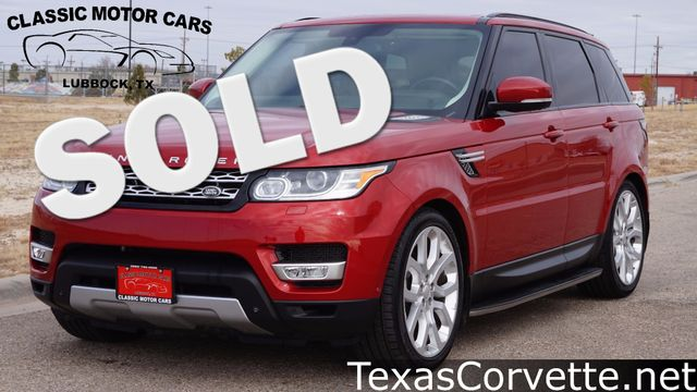 2014 Land Rover Range Rover Sport HSE | Lubbock, Texas | Classic Motor Cars