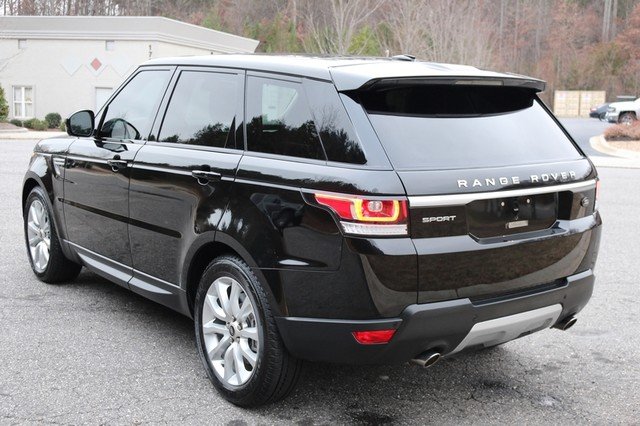 2014 Land Rover Range Rover Sport Supercharged Mooresville, North Carolina 3