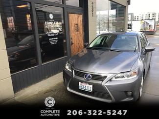 2014 Lexus CT 200h Hybrid 20,000 Miles Local 1 Owner Heated Seats Backup Camera Power Moonroof Save $11,326  in Seattle