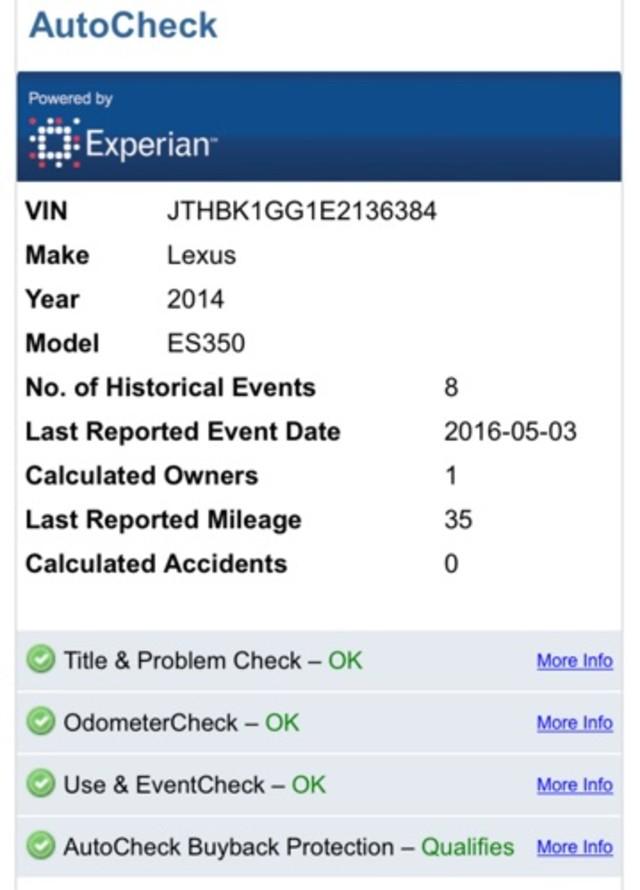 2014 Lexus ES 350 Jacksonville , FL 4