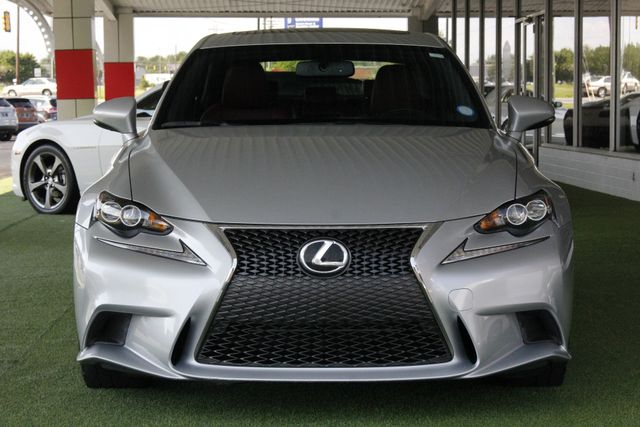 2014 Lexus IS 250 F-SPORT RWD - BLIND SPOT - RED LEATHER! Mooresville , NC 17