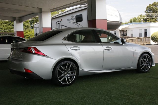 2014 Lexus IS 250 F-SPORT RWD - BLIND SPOT - RED LEATHER! Mooresville , NC 24