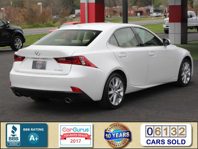 2014 Lexus IS 250 RWD - SUNROOF - ONE OWNER! Mooresville , NC 2