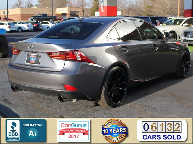 "2014 Lexus IS 350 AWD - F SPORT - 20"" WHEELS - NAV! Mooresville , NC 2"