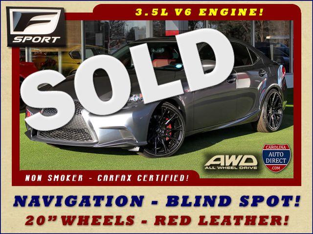 "2014 Lexus IS 350 AWD - F SPORT - 20"" WHEELS - NAV! Mooresville , NC 0"