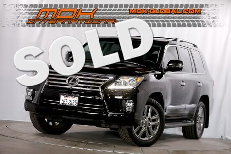 2014 Lexus LX 570 - Heavily optioned - Only 22K miles in Los Angeles