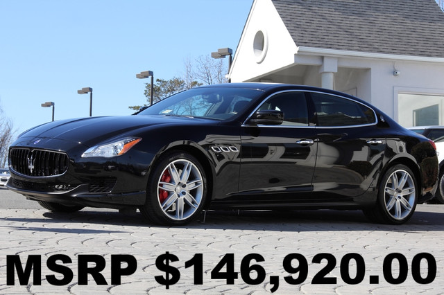 2014 MASERATI Quattroporte Sport GT S 4dr Sedan AMFM CD Player Anti-Theft Sunroof AC Cruise