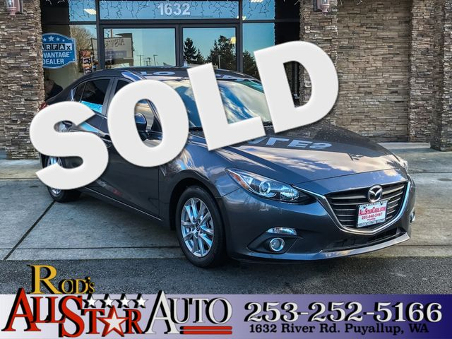 2014 Mazda Mazda3 i Touring This vehicle is a CarFax certified one-owner used car Pre-owned vehic