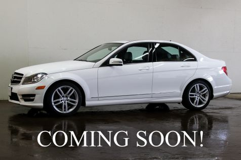 2014 Mercedes-Benz C300 Sport 4Matic AWD Luxury Car w/Navigation Heated Seats, Moonroof & Bluetooth Audio in Eau Claire