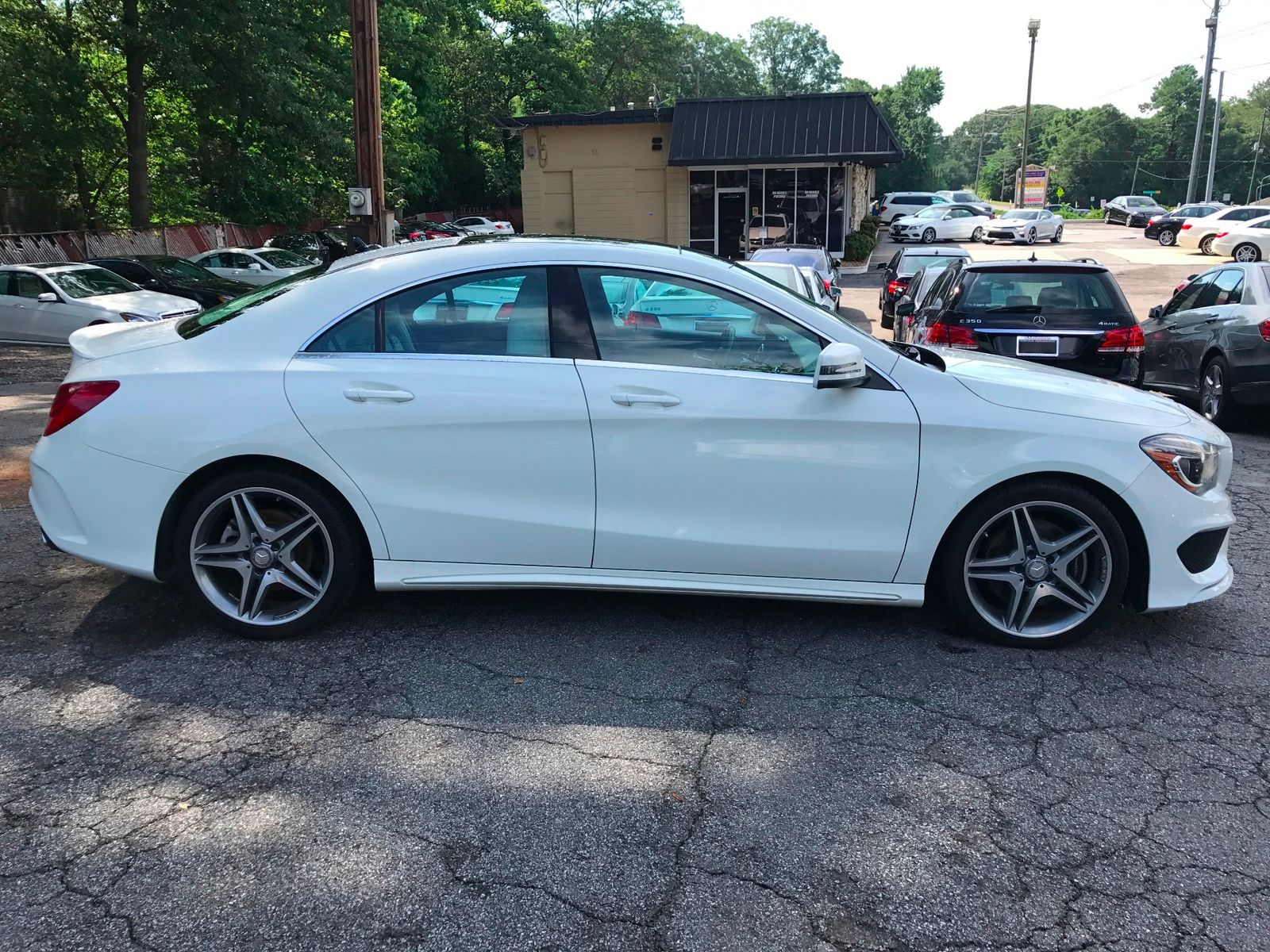2014 mercedes benz cla 250 amg panorama roof city ga for Mercedes benz athens ga