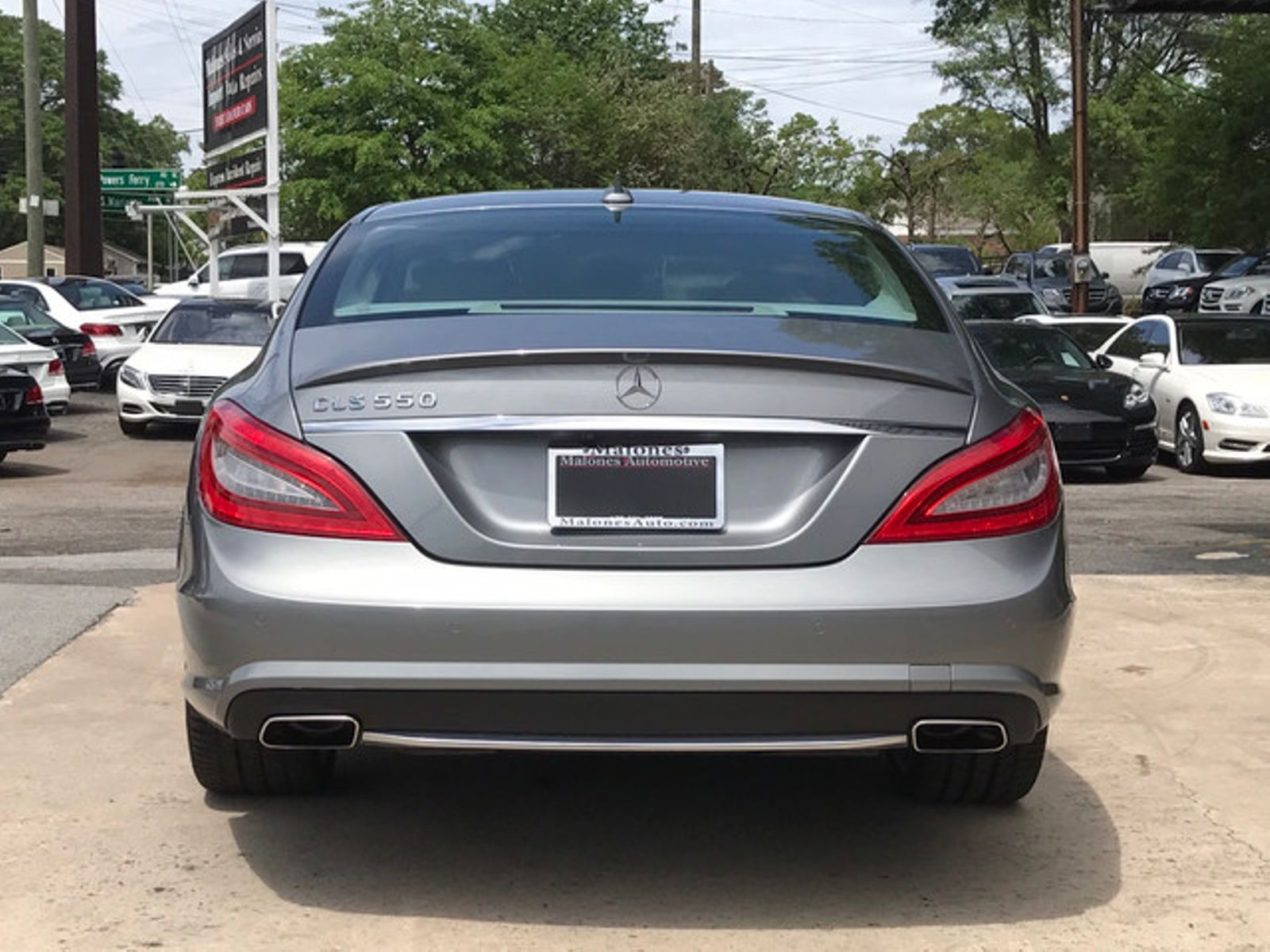 2014 mercedes benz cls 550 amg keyless go blind spot for Mercedes benz cls 550