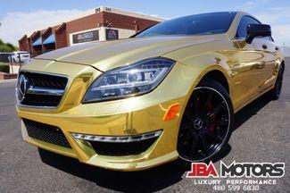 2014 Mercedes-Benz CLS 63 CLS63 AMG S-Model CLS Class 63 24kt GOLD | MESA, AZ | JBA MOTORS in Mesa AZ
