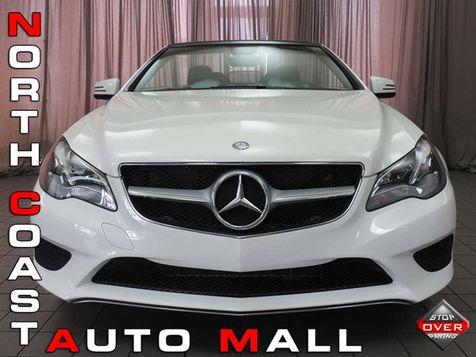 2014 Mercedes-Benz E 350 2dr Cabriolet E 350 RWD in Akron, OH