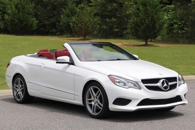 2014 Mercedes-Benz E 350 Cabriolet Mooresville, North Carolina 0