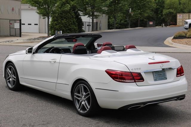 2014 Mercedes-Benz E 350 Cabriolet Mooresville, North Carolina 3