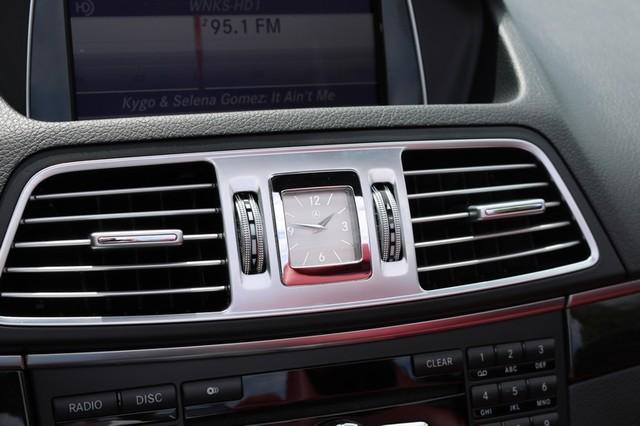 2014 Mercedes-Benz E 350 Cabriolet Mooresville, North Carolina 36