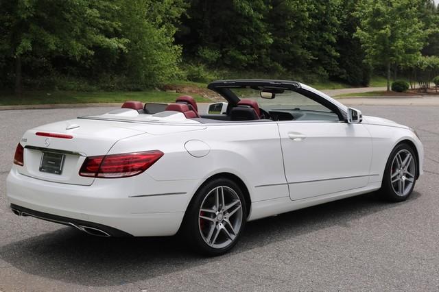 2014 Mercedes-Benz E 350 Cabriolet Mooresville, North Carolina 5
