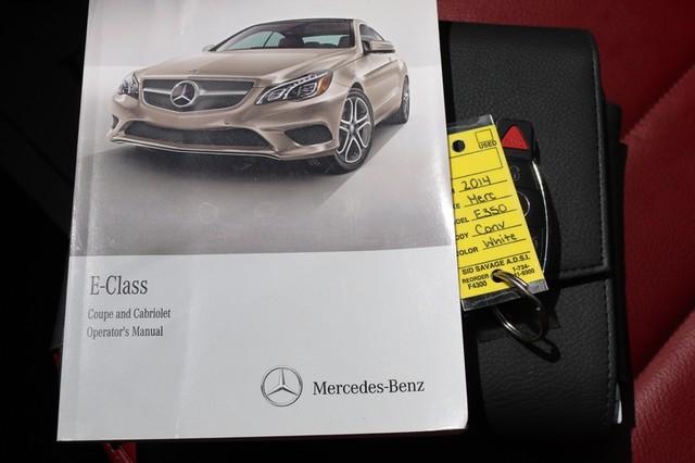 2014 Mercedes-Benz E 350 Cabriolet Mooresville, North Carolina 77