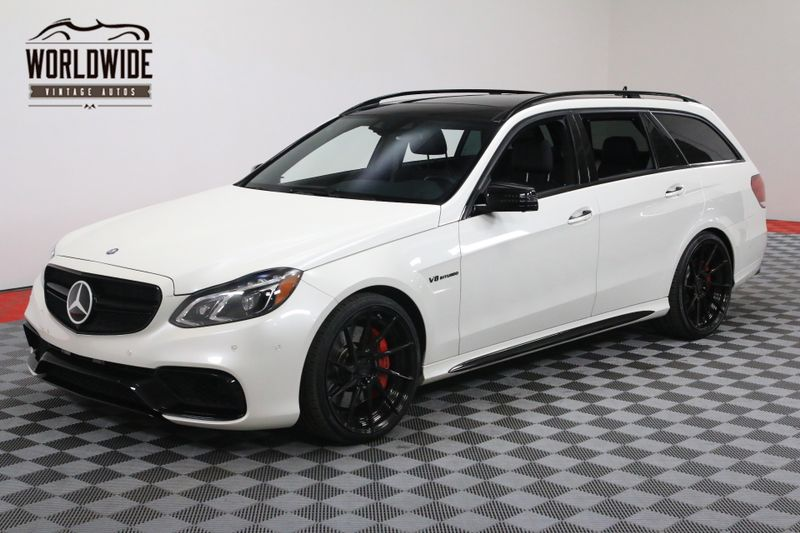 2014 Mercedes-Benz E 63 AMG BRABUS $175K+ INVESTED AWD WARRANTY 1 OF 1 | Denver, CO | Worldwide Vintage Autos