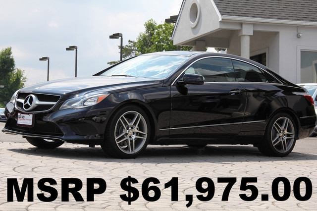 2014 Mercedes E-Class AWD E350 4MATIC 2dr Coupe AMFM CD Player Anti-Theft Sunroof AC Cruise