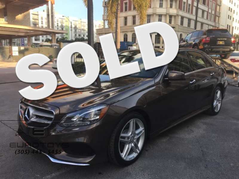 2014 Mercedes-Benz E Class E350 in Miami FL