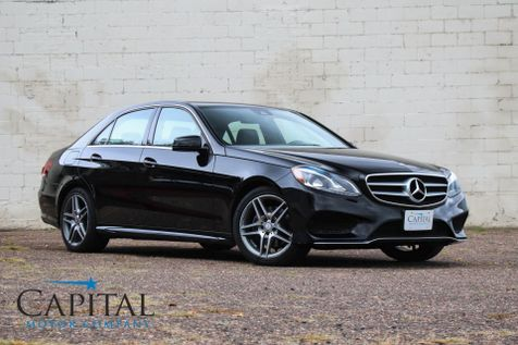 2014 Mercedes-Benz E350 4Matic AWD Executive Sport Sedan w/Navigation, Harman/Kardon Audio & 18