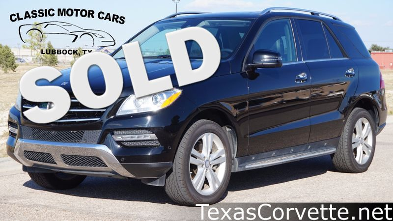 2014 Mercedes-Benz ML 350  | Lubbock, Texas | Classic Motor Cars