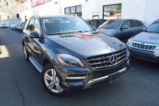 2014 Mercedes-Benz ML 350 ML350 SUV Richmond Hill, New York 1