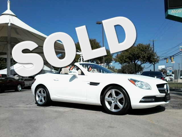 2014 Mercedes-Benz SLK 250 retractable convertible San Antonio, Texas 0