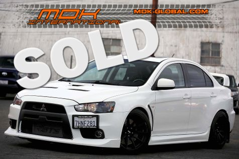 2014 Mitsubishi Lancer Evolution GSR - Leather + Sunroof + Sound pkgs in Los Angeles