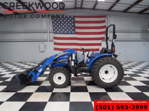 2014 New Holland Boomer 50 Tractor 4x4 Front End Loader 50hp Agriculture Farm in Searcy, AR
