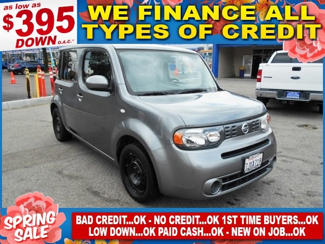 2014 Nissan cube S Limited warranty included to assure your worry-free purchase AutoCheck report