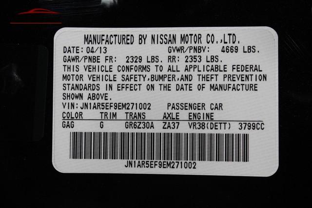 2014 Nissan GT-R Black Edition Merrillville, Indiana 44