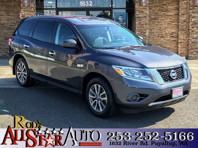 2014 Nissan Pathfinder S 4WD The CARFAX Buy Back Guarantee that comes with this vehicle means that