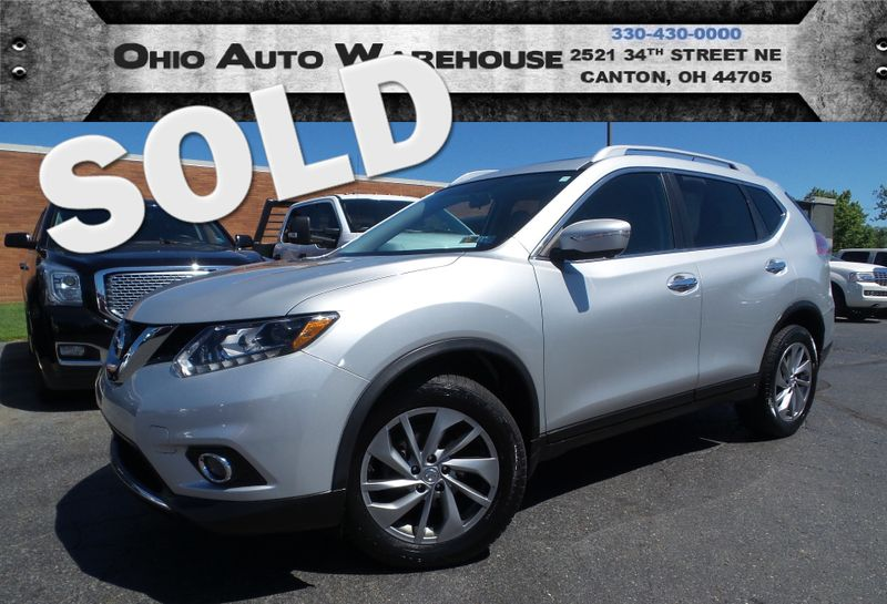 2014 Nissan Rogue SL Navi Pano Roof 1-Owner Clean Carfax We Finance | Canton, Ohio | Ohio Auto Warehouse LLC in Canton Ohio